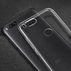 Silikon Hülle Handyhülle Ultradünn Tasche Durchsichtig Transparent für Xiaomi Mi A1 Klar