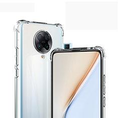 Silikon Hülle Handyhülle Ultradünn Tasche Durchsichtig Transparent für Xiaomi Poco F2 Pro Klar
