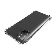 Silikon Hülle Handyhülle Ultradünn Tasche Durchsichtig Transparent für Xiaomi Poco M3 Klar
