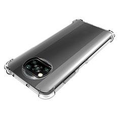 Silikon Hülle Handyhülle Ultradünn Tasche Durchsichtig Transparent für Xiaomi Poco X3 NFC Klar