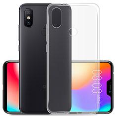 Silikon Hülle Handyhülle Ultradünn Tasche Durchsichtig Transparent für Xiaomi Redmi 6 Pro Klar
