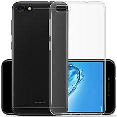 Silikon Hülle Handyhülle Ultradünn Tasche Durchsichtig Transparent für Xiaomi Redmi 6A Klar