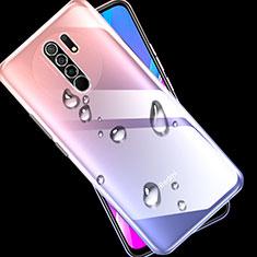 Silikon Hülle Handyhülle Ultradünn Tasche Durchsichtig Transparent für Xiaomi Redmi 9 Prime India Klar