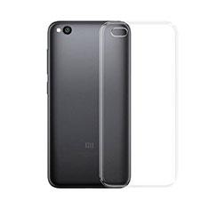 Silikon Hülle Handyhülle Ultradünn Tasche Durchsichtig Transparent für Xiaomi Redmi Go Klar