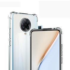 Silikon Hülle Handyhülle Ultradünn Tasche Durchsichtig Transparent für Xiaomi Redmi K30 Pro Zoom Klar