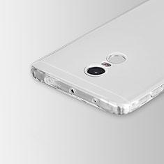 Silikon Hülle Handyhülle Ultradünn Tasche Durchsichtig Transparent für Xiaomi Redmi Note 4 Klar