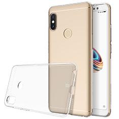 Silikon Hülle Handyhülle Ultradünn Tasche Durchsichtig Transparent für Xiaomi Redmi Note 5 AI Dual Camera Klar