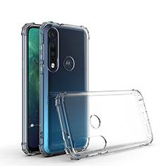 Silikon Hülle Handyhülle Ultradünn Tasche Durchsichtig Transparent G01 für Motorola Moto G8 Plus Klar
