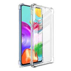 Silikon Hülle Handyhülle Ultradünn Tasche Durchsichtig Transparent G01 für Samsung Galaxy A41 Klar
