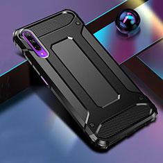 Silikon Hülle Handyhülle und Kunststoff Schutzhülle Tasche für Huawei Honor 9X Pro Schwarz