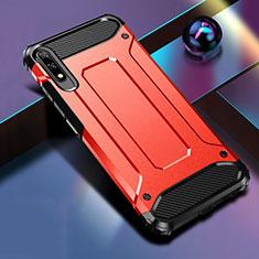 Silikon Hülle Handyhülle und Kunststoff Schutzhülle Tasche für Huawei Honor 9X Rot