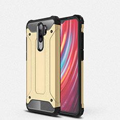 Silikon Hülle Handyhülle und Kunststoff Schutzhülle Tasche für Xiaomi Redmi Note 8 Pro Gold