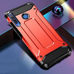 Silikon Hülle Handyhülle und Kunststoff Schutzhülle Tasche R01 für Huawei Nova 4e Rot