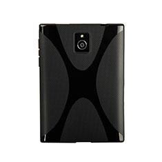 Silikon Hülle Handyhülle X-Line Schutzhülle für Blackberry Passport Q30 Schwarz