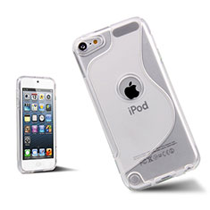 Silikon Hülle S-Line Schutzhülle Durchsichtig Transparent für Apple iPod Touch 5 Weiß