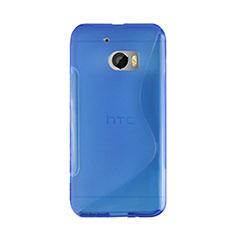 Silikon Hülle S-Line Schutzhülle für HTC 10 One M10 Blau