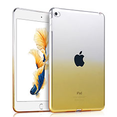 Silikon Hülle Ultra Dünn Schutzhülle Durchsichtig Farbverlauf für Apple iPad Air 2 Gelb