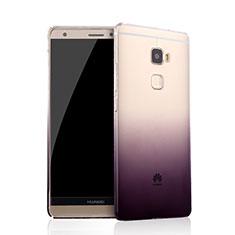 Silikon Hülle Ultra Dünn Schutzhülle Durchsichtig Farbverlauf für Huawei Mate S Violett
