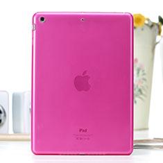 Silikon Hülle Ultra Dünn Schutzhülle Durchsichtig Transparent für Apple iPad Air Pink