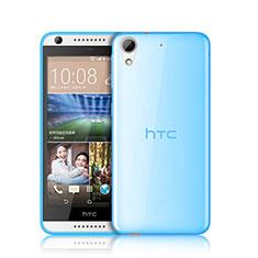 Silikon Hülle Ultra Dünn Schutzhülle Durchsichtig Transparent für HTC Desire 626 Blau