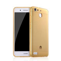 Silikon Hülle Ultra Dünn Schutzhülle Durchsichtig Transparent für Huawei G8 Mini Gold