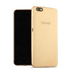 Silikon Hülle Ultra Dünn Schutzhülle Durchsichtig Transparent für Huawei Honor 4X Gold