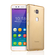 Silikon Hülle Ultra Dünn Schutzhülle Durchsichtig Transparent für Huawei Honor 5X Gold