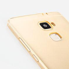 Silikon Hülle Ultra Dünn Schutzhülle Durchsichtig Transparent für Huawei Mate S Gold