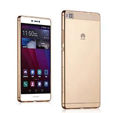 Silikon Hülle Ultra Dünn Schutzhülle Durchsichtig Transparent für Huawei P8 Gold