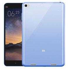 Silikon Hülle Ultra Dünn Schutzhülle Durchsichtig Transparent für Xiaomi Mi Pad 2 Blau