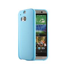 Silikon Schutzhülle Gummi Tasche für HTC One M8 Blau