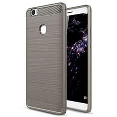 Silikon Schutzhülle Gummi Tasche für Huawei Honor Note 8 Grau