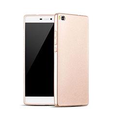 Silikon Schutzhülle Gummi Tasche für Huawei P8 Gold