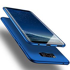 Silikon Schutzhülle Gummi Tasche für Samsung Galaxy S8 Plus Blau