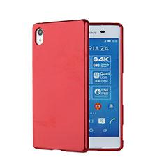 Silikon Schutzhülle Gummi Tasche für Sony Xperia Z3+ Plus Rot