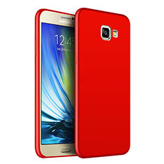 Silikon Schutzhülle Gummi Tasche Gel für Samsung Galaxy J7 Prime Rot