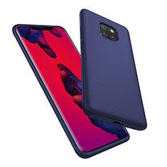Silikon Schutzhülle Gummi Tasche Köper für Huawei Mate 20 Pro Blau