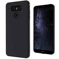 Silikon Schutzhülle Gummi Tasche Köper für LG G6 Schwarz