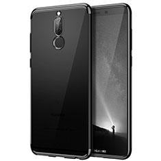 Silikon Schutzhülle Rahmen Tasche Durchsichtig Transparent Matt für Huawei G10 Schwarz