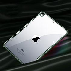Silikon Schutzhülle Rahmen Tasche Hülle Durchsichtig Transparent Spiegel für Apple New iPad Air 10.9 (2020) Nachtgrün