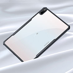 Silikon Schutzhülle Rahmen Tasche Hülle Durchsichtig Transparent Spiegel für Huawei MatePad 10.4 Schwarz