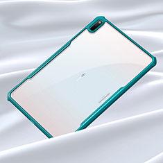 Silikon Schutzhülle Rahmen Tasche Hülle Durchsichtig Transparent Spiegel für Huawei MatePad 5G 10.4 Cyan