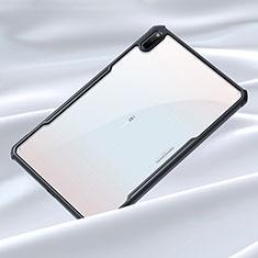 Silikon Schutzhülle Rahmen Tasche Hülle Durchsichtig Transparent Spiegel für Huawei MatePad 5G 10.4 Schwarz