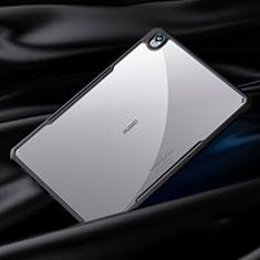 Silikon Schutzhülle Rahmen Tasche Hülle Durchsichtig Transparent Spiegel für Huawei MediaPad M6 10.8 Schwarz