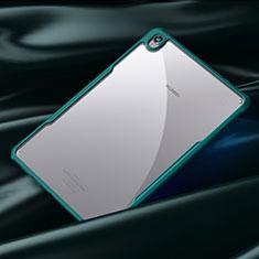 Silikon Schutzhülle Rahmen Tasche Hülle Durchsichtig Transparent Spiegel für Huawei MediaPad M6 8.4 Cyan