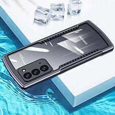 Silikon Schutzhülle Rahmen Tasche Hülle Durchsichtig Transparent Spiegel H01 für Samsung Galaxy Note 20 5G Grau