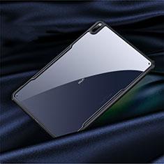 Silikon Schutzhülle Rahmen Tasche Hülle Durchsichtig Transparent Spiegel M01 für Huawei MatePad Pro 5G 10.8 Schwarz