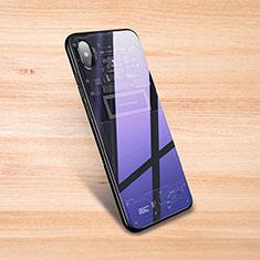 Silikon Schutzhülle Rahmen Tasche Hülle Durchsichtig Transparent Spiegel S01 für Xiaomi Mi 8 Explorer Schwarz