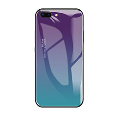 Silikon Schutzhülle Rahmen Tasche Hülle Spiegel A01 für Apple iPhone 8 Plus Grün