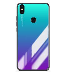 Silikon Schutzhülle Rahmen Tasche Hülle Spiegel Farbverlauf für Xiaomi Mi A2 Plusfarbig